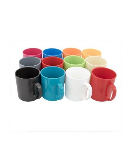 Hrnček 220ml detský plast mix farieb