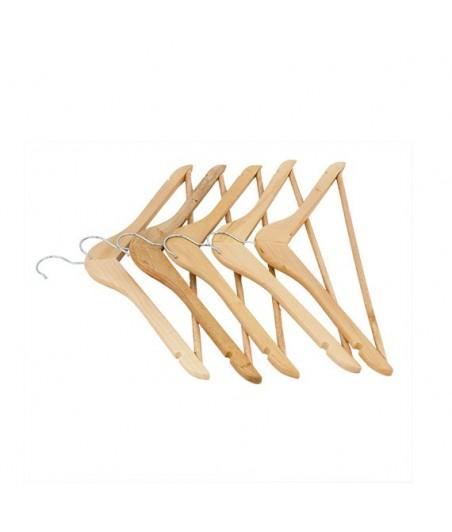 Vešiak na šaty drevený 5ks