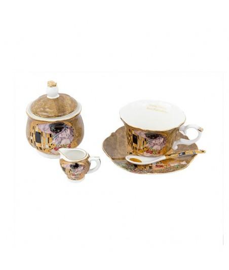 Sada 9 dielna Klimt zlatý