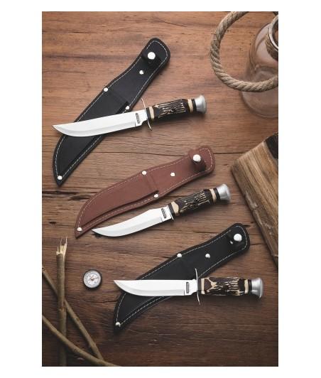 Lovecký nôž v kož. obale Outdoor 12,7cm