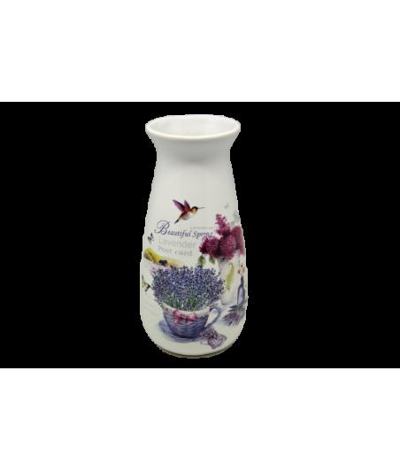 Váza keramická Levandula