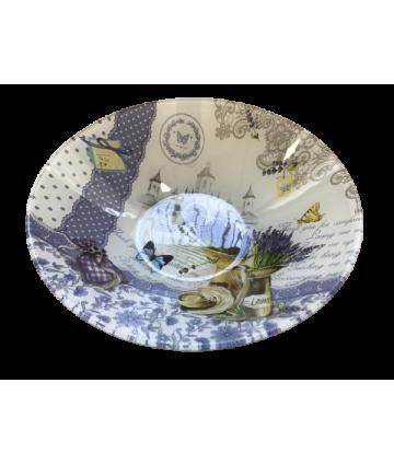 Miska Levandula sklo 22,5cm