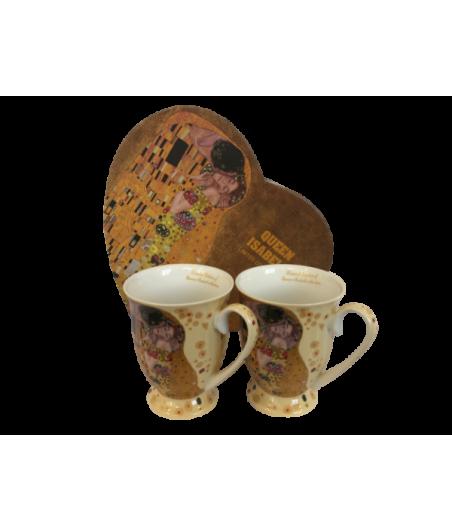 Sada hrnčekov 2ks Klimt