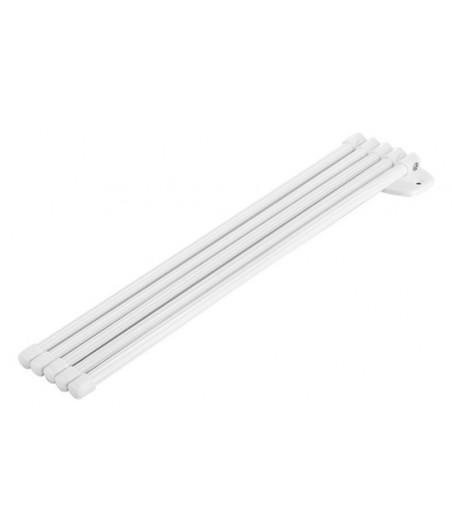 Vešiak na uteráky 5-ramenný PVC