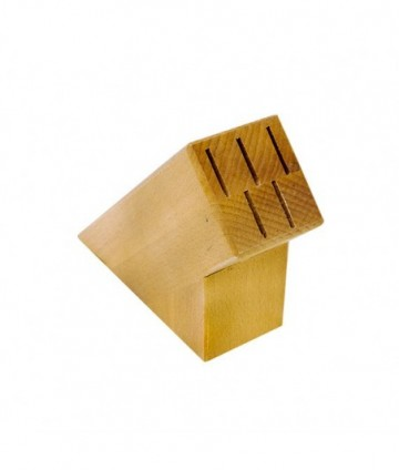 Stojan na nože drevený