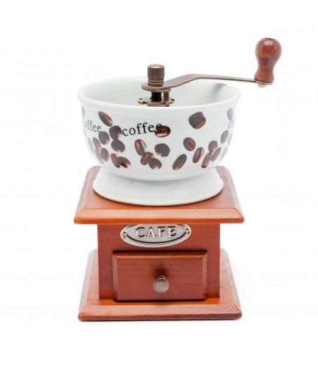 Mlynček na kávu drevo/keramika