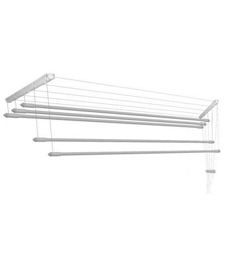 Sušiak stropný 5-tyčový 140cm