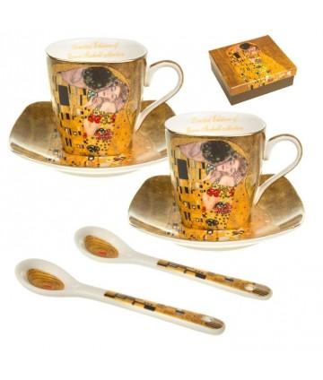 Sada šálok 2+2 mokka Klimt...