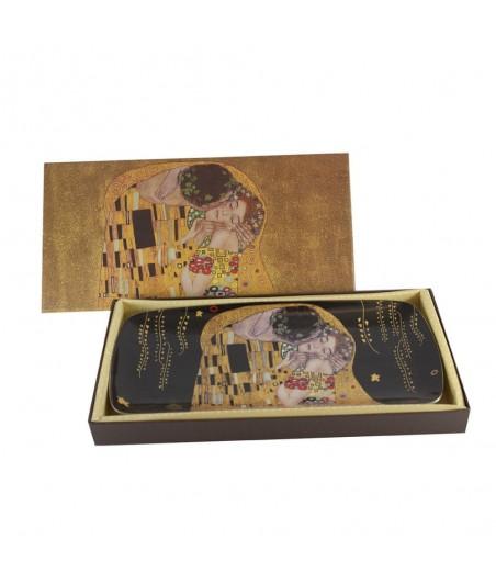 Tácka roládová Klimt čierny 0041