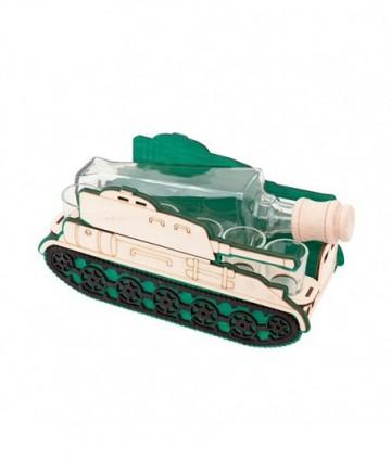 Fľaša s pohármi 6ks Tank 700