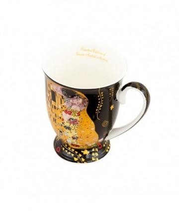 Sada hrnčekov 2ks Klimt čierny