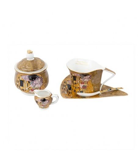 Sada 9 dielna Klimt zlatý atyp