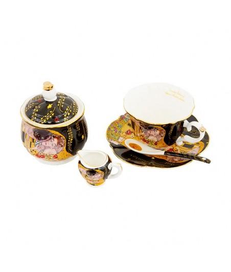 Sada 9 dielna Klimt čierny