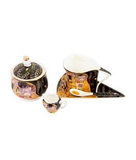 Sada 9 dielna Klimt čierny atyp