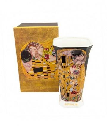 Váza veľká Klimt čierny